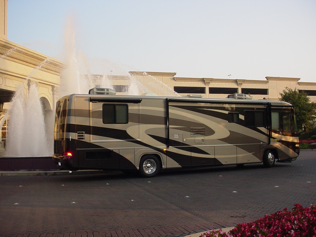 SPEEDWAY RV RENTALS AND INFIELD PACKAGES