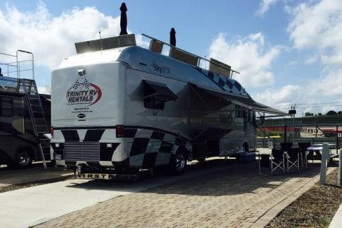 All Inclusive NASCAR RACE PACKAGES - Infield Camping