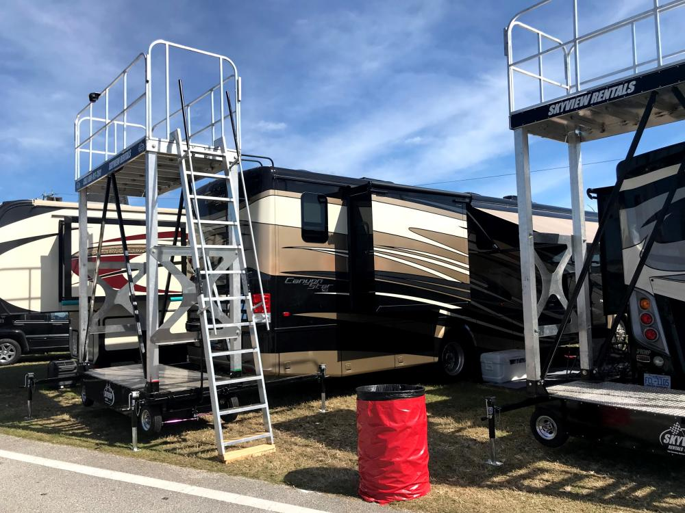 Trinity RV Rentals Canyon Star NASCAR RV Packages